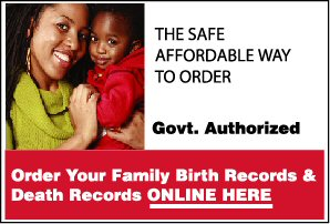 Order Birth or Death Records Online!